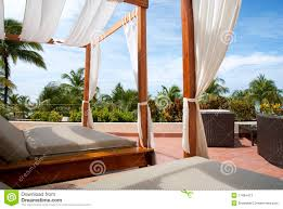 outdoor cabana bed impressive 1000 ideas about backyard on