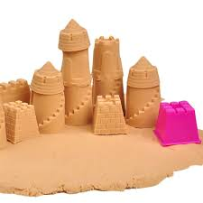 ggg 6 pcs small kinetic motion sand castle building model mold