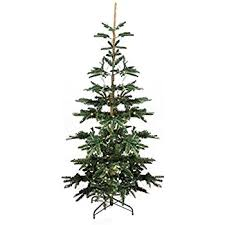 noble christmas tree 6 5 pre lit noble fir artificial flocked christmas
