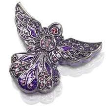 keepsake urns purple angel keepsake urn