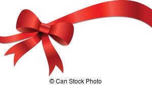 christmas gift bow clipart vector of christmas bow illustration big christmas