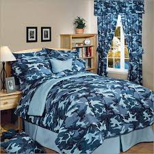 Blue Camo Bed Set Camoflauge Blue Bedding Camouflage Bedding Camo Bed In A