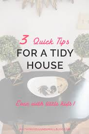 clean your house how to keep your house tidy the magic rule of one all things