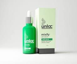 Serum Acne mixify unloc anti acne aha bha tea tree licorice serum 30