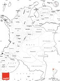 Blank Outline Map Of Europe by Blank Simple Map Of Colombia
