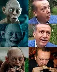 Smeagol Memes - peter jackson offers defense for erdo茵an insulter that s not