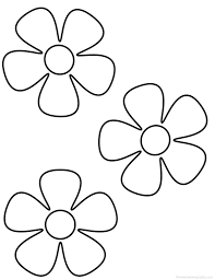 flower coloring pages 1 coloring kids coloring flowers for kids in
