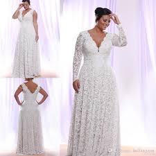 lace wedding dresses with sleeves discount cheap lace plus size wedding dresses with removable