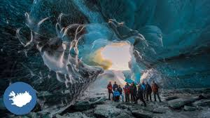 The Ice Cave Tour In Iceland Youtube