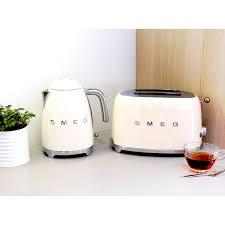 Stylish Toasters Smeg Retro Two Slice Toaster Stylish 1950s Design