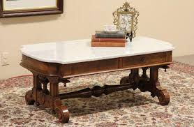 value of marble top tables coffee table ideas remarkableique marble top coffee table value