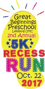 recess register for the 2017 great beginnings recess run potomac river