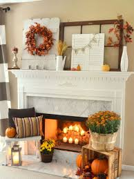 living room fall crafts for mantel decorating ideas mantel shelf