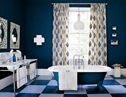 blue and brown bathroom decor small swimming shower room design