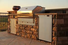Patio Grills Built In Built In Pellet Grills Bring Convenience To Outdoor Kitchens