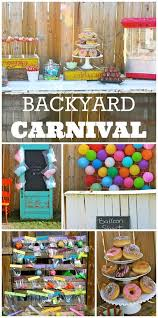 Backyard Birthday Decoration Ideas The Best Party Decor Ideas On Pinterest Carnival Birthday