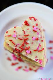 heart shaped cookies easy heart shaped shortbread cookies