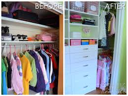 wardrobe organization organizing a shared kids room closet easyclosets makeover the