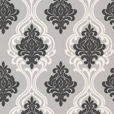 contemporary wallpaper decorline indiana damask wallpaper walmart com