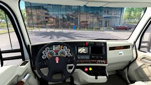 2014 kw t680 the luxury interior in kenworth t680 for american truck simulator