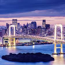 rainbow bridge tokyo japan hd desktop wallpaper high