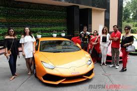 first lamborghini lamborghini hosts india u0027s first women sports car drive