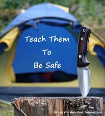 childrens kitchen knives knife safety for children on the homestead bush craft kitchen