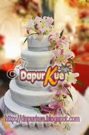 wedding cake jogja dapur kue jogja