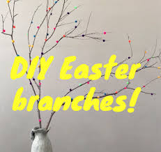 Branch Decor Diy Easter Branches Decor Under 5 Check Out The How To Youtube