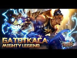 Mobile Legends Mobile Legends New Mighty Legend Gatotkaca