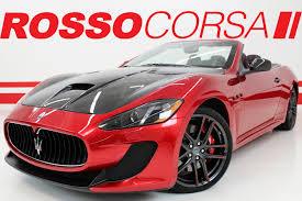convertible maserati 2016 rosso corsa gallery 2016 maserati granturismo mc centennial