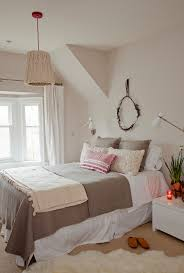 beautiful sheepskin rug mode vancouver shabby chic bedroom