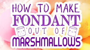 how to make marshmallow fondant u0026 color your diy fondant at home