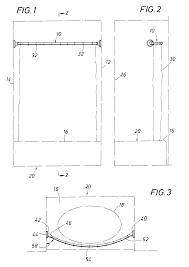 48 Curved Shower Curtain Rod Patent Us6216287 Shower Curtain Rod Google Patents