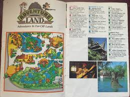 Map Of Disney World Magic Kingdom by Your Guide To The Magic Kingdom 1983 U2013 Young Walt Disney