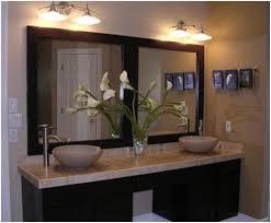 sink bathroom ideas mirrored bathroom vanity cabinets impressive design doc seek
