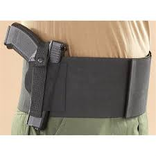 belly band belly band with 2 mag pouches black 195589 holsters at