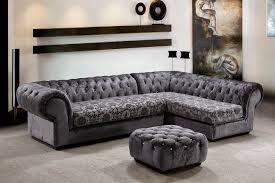 Tufted Sectionals Sofas by Grey Sectional Couch Microfiber Grey Sectional Sofa