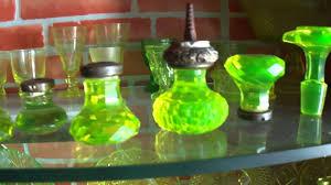 glass crystal door knobs antique vintage door knobs uranium glass crystal version
