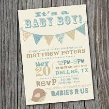 vintage baby boy shower invitations iidaemilia