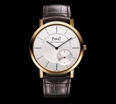 piaget automatic piaget altiplano the thinnest automatic in the world the