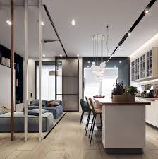 kitchen apartment design beautiful studio apartments design by style dining room studio