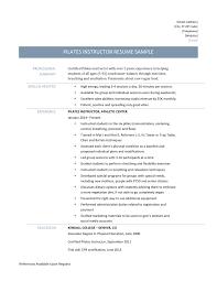 adjunct professor resume example adjunct instructor resume resume for your job application pilates instructor resume medical instructor exemple de cv pilates instructor resume template