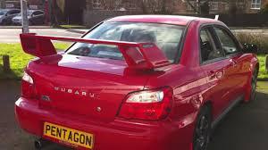 red subaru sedan 2003 53 plate subaru impreza 2 0 wrx 4wd 4dr red youtube