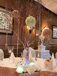 Martini Glass Vase Flower Arrangement Centerpieces The Party Place Li The Party Specialists
