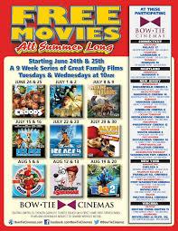 free summer movies at bow tie cinemas richmond bargains