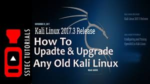 kali linux latest tutorial upgrade update kali linux to kali linux 2017 3 without install