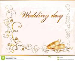 weeding card vintage wedding card stock photo image 19397810