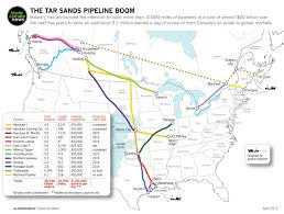 International Date Line Map Exclusive Map The Tar Sands Pipeline Boom Insideclimate News