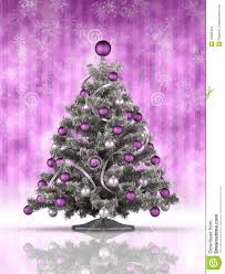 purple christmas tree christmas tree on purple background stock images image 35005454